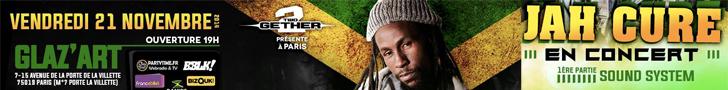 Jah Cure en concert au Glazart de Paris - 21 Novembre 2014