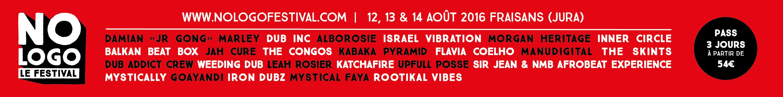 No Logo Festival 12 13 14 Aout 2016