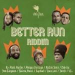 pochette Better Run riddim - album Paradise - Dub Inc.