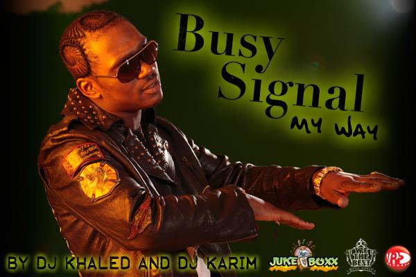 Busy signal - My Way