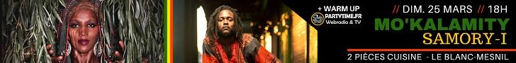 Cliquez ici pour réserver votre place pour le concert de Samori I et Mo Kalamity