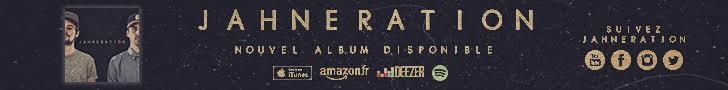 Cliquez pour découvrir le tout nouvel album du groupe Jahneration