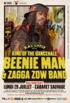 Beenie Man au Cabaret Sauvage