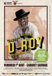 U-Roy au Cabaret Sauvage