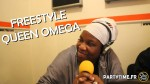 Freestyle Queen Omega at Party Time Reggae show - 29 AVRIL 2014